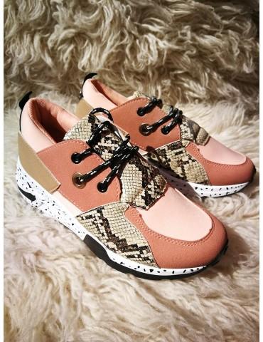 Sneakersy morelowe